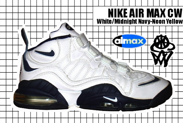 1995-96 Air Max CW White