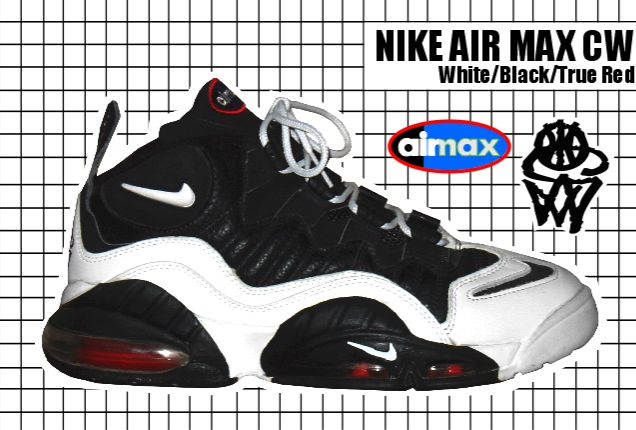 1995-96 Air Max CW Wht:Blk
