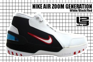 2003-04 Air Zoom Generation White