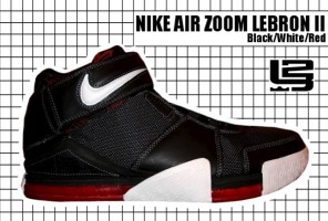 2004-05 Air Zoom Lebron II Black