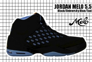 2005-06 Jordan Melo 5.5 Black