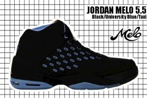 2005-06 Jordan Melo 5.5 Black