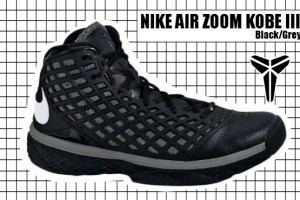 2007-08 Air Zoom Kobe III Black