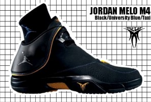 2007-08 Jordan Melo M4 Black