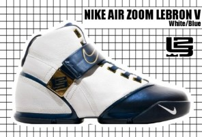 2007-08 Zoom Lebron V White