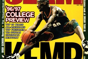 Shawn Kemp Slam magazine 1996 01 red