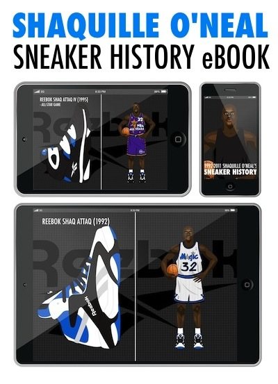 Mis zapas: 1992-2011 Shaquille O'neal's Sneaker history